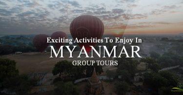 myanmar family tours