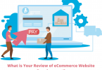 ecommerce website development review