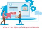 ecommerce website development review