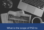 What is the scope of PSD to WordPress conversion for business