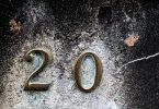 chrome door numbers
