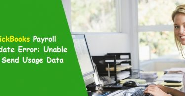 QuickBooks Payroll Failed to Send Usage Data
