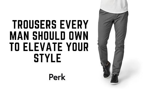 trouser pants for men